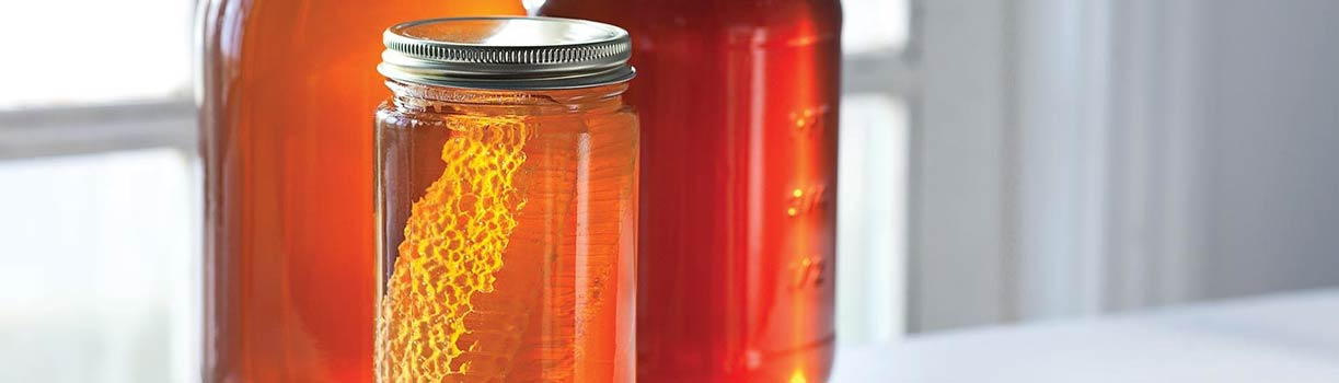 عسل طبیعی و عسل مایع