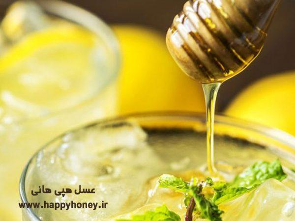 ماسک مو با عسل و آب