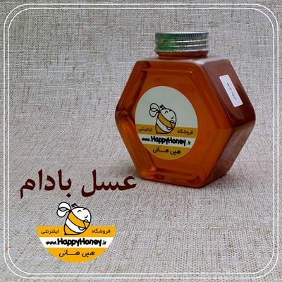 خرید عسل بادام